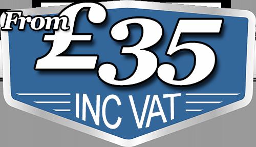 From £35 Inc VAT