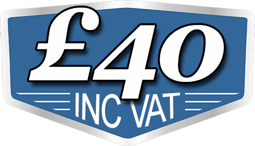 £40 Inc VAT